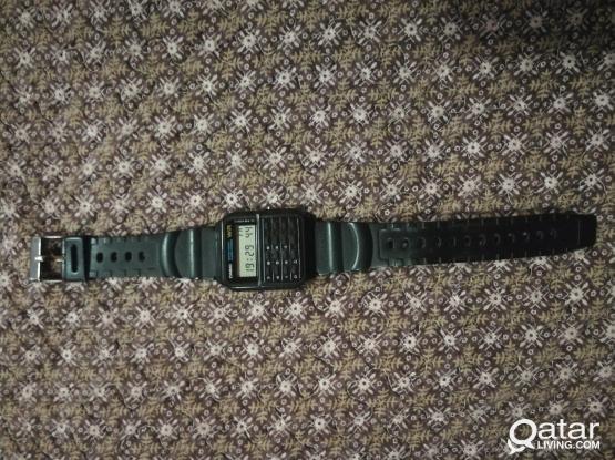 Casio calculator original watch