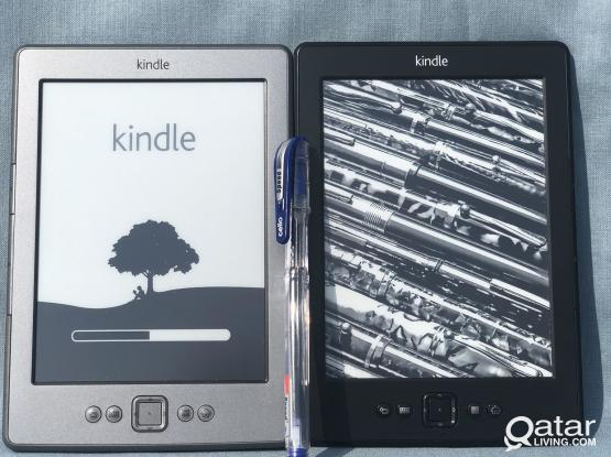Kindle 4  6' dislay(2 for 115)