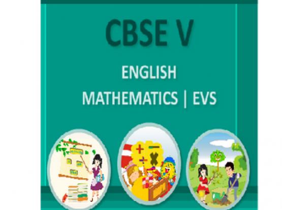 CBSE BOOKS FOR CLASS 4 & 5