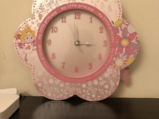 Girls Stuff, Clock, Scale and Organizer