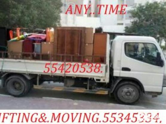 55345334'TRANSPORT-SHIFTING,MOVING,CARPENTAR,HOUSE SHIFTING,WITH-TRUCK&PICK.UP-PLEASE CALL.55420538
