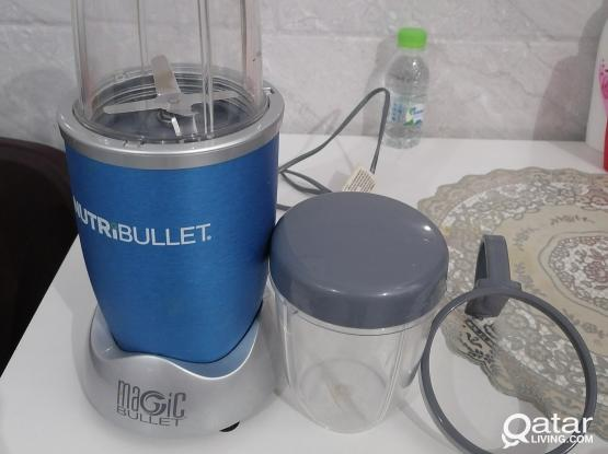 Nutribullet Magic Blender Mixer Mint Condition..