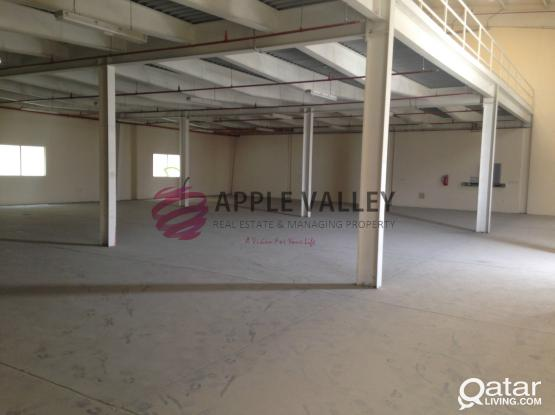 900 SQM CARPENTRY AND ALUMINUM WORKSHOP FOR RENT IN INDUSTRIAL AREA