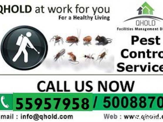 Cleaning & Pest Control Services - Al Khor/Um-salal/Al Kheesa 55957958