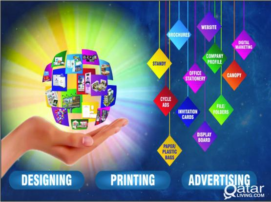 Complete Solution For Designing, Printing & Advertising