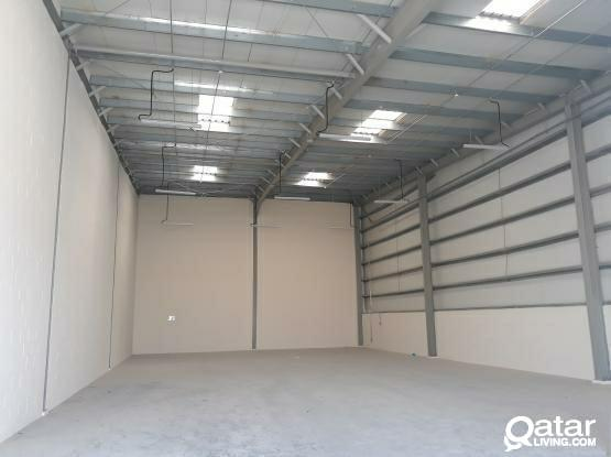 1 Month Free! 300 Sqm Brand New Warehouse Available in Umm Al Saneem