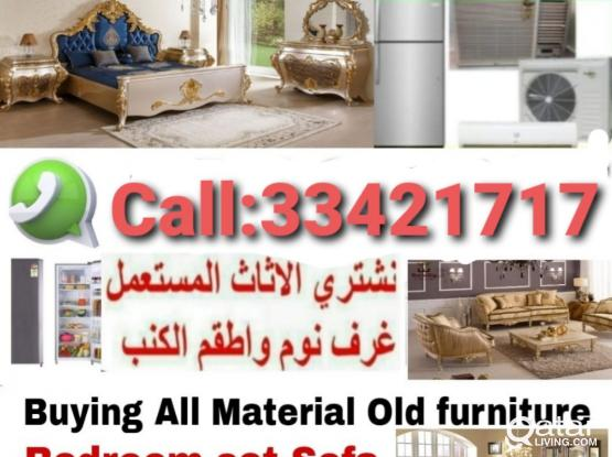 Buying All  kinds of House hold Use furniture Item full Bedroom Set,Office Tv Set, A/C, Elections, fridge, Aluminum,kitchen Cabinet, Washing Machinen, etc. Call & WhatsApp Me☎️..974:33 42 17 17.Our Service  24/7 hold of Doha City Qata.Now discount offer.