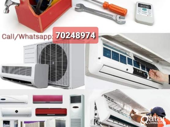 AC service washing machine repairing and home servicing Please call 70248974
