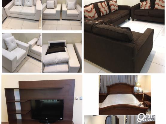 Used villa furniture items for sell...