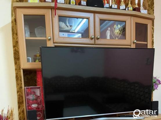 TV stand, Study table, Small Aquarium etc for sale