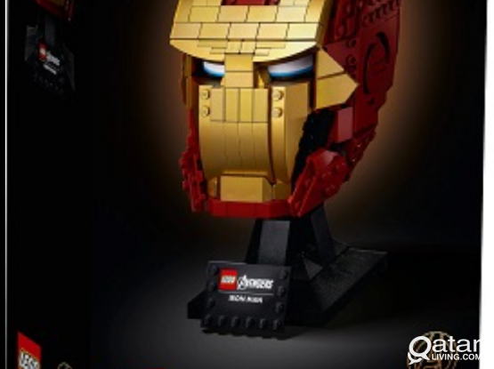 Lego Iron Man Helmet