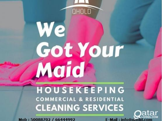 Best Cleaning Services at Doha/Wakra/Pearl Qatar - 66444992