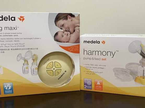 Medela Swing Maxi (Double Breast Pump) and Harmony