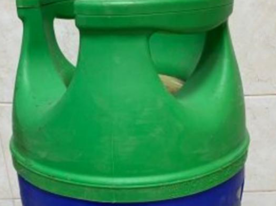 Full gas cylinder with Delivery