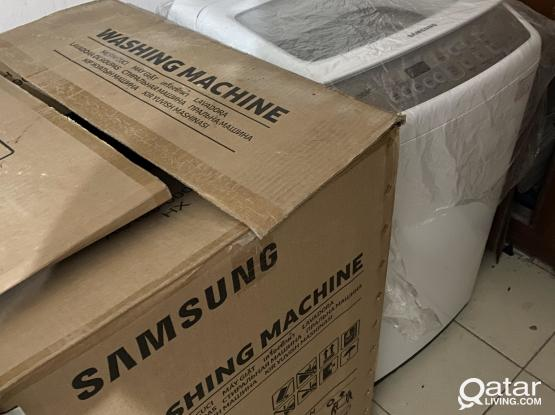 New Samsug washing machine 7 kg