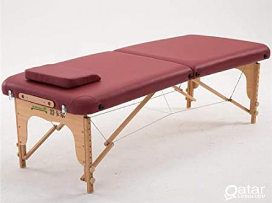Massage Table fold with bag ,sheets and pillow