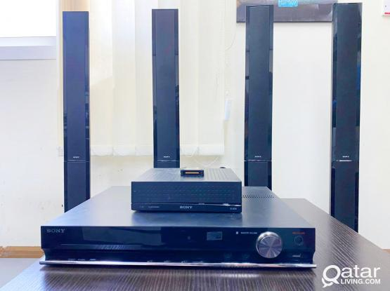 SONY  HOME THEATER SYSTEM WITH FREE DELIVERY