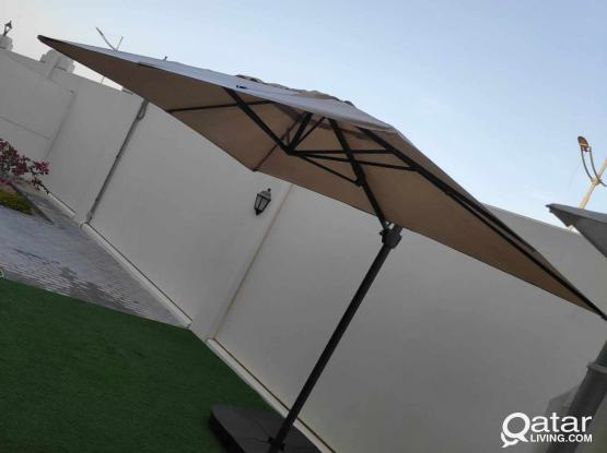 Awning, Ikea SEGLARÖ Parasol + base