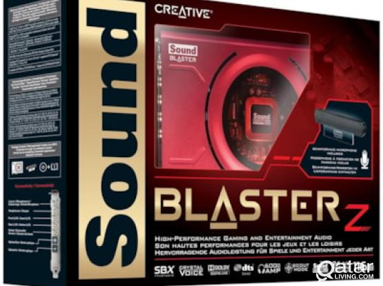 Sound Blaster Z PCIe Gaming Sound Card with High Performance Headphone Amp & Beam Forming Microphone