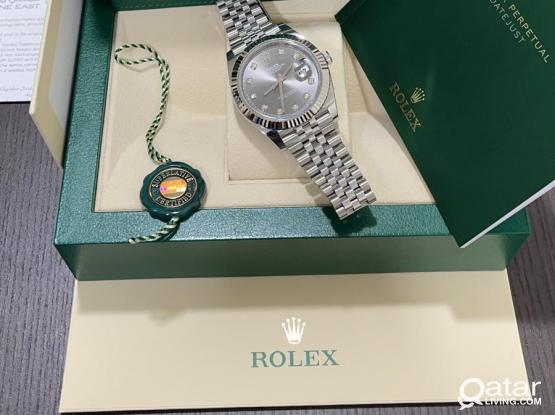 Feb 2021 - Rolex DateJust 41mm - Diamond
