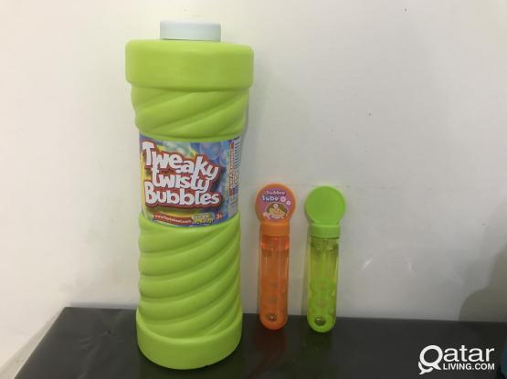 Bubble toy and refill solution from Early Learning Centre