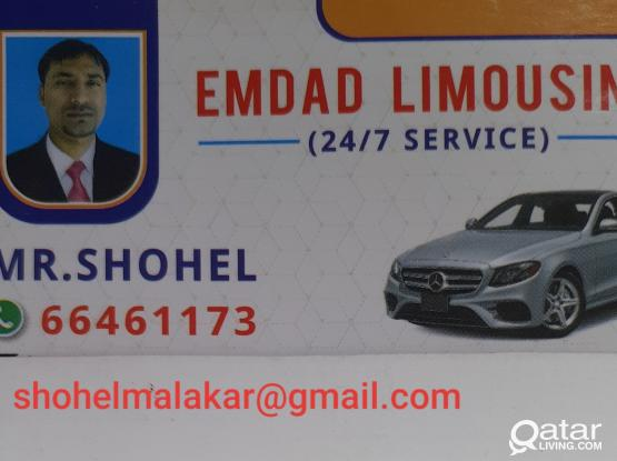 Call/WhatsApp me for Transport/Limousine/Delivery Services