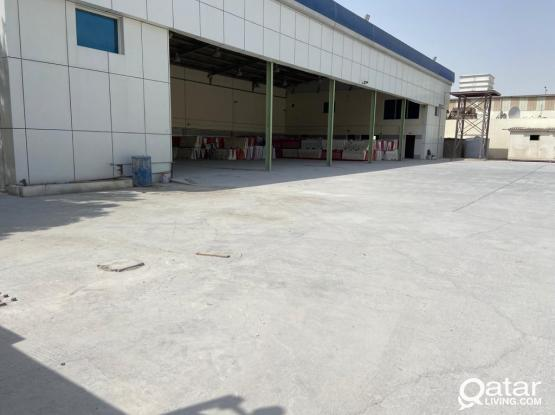 800SQUARE METER STORE WITH 3000S.Q.M LAND&19 ROOMS  FOR RENT IN INDUSTRIAL AREA