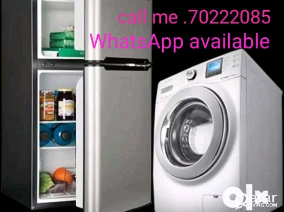 WASHING MACHINE AND FIRDGE REPIER CALL 70222085
