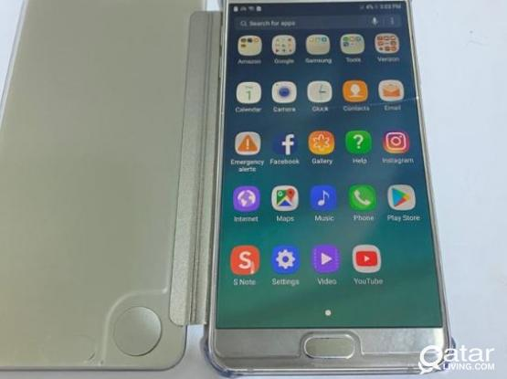Samsung Galaxy note 5 32GB with hairline crack