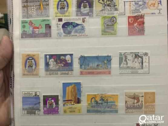 Qatar Stamps Old