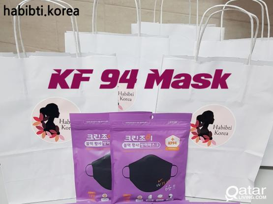KF 94 Mask & Mask strap (Made in Korea)