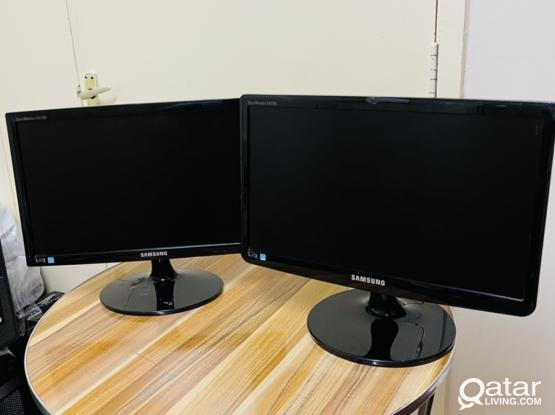 Samsung 19 inch monitor  Full fresh stock available  Look like new  All cable available  Super condition  Come fast and take fast Doha jadeeda Contact 77320442 Watsapp availble