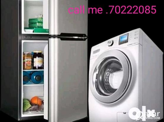 Washing machine. fridge. a/c repair call 70222085
