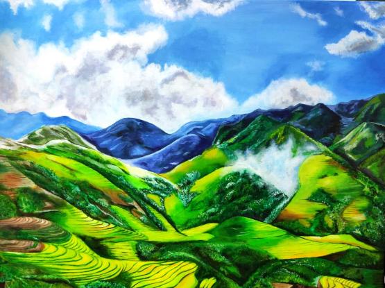 Acrylic painting (original )