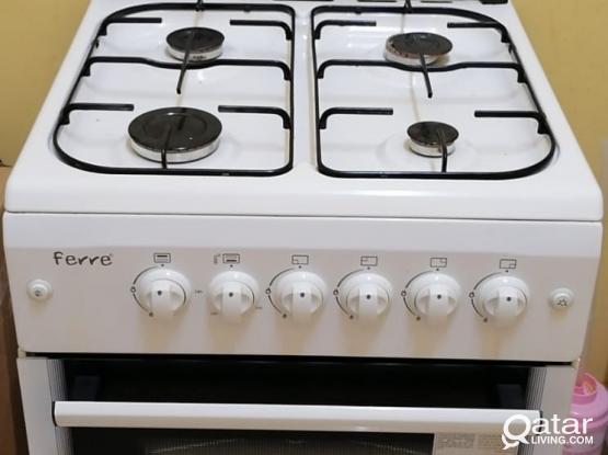 Ferre Cooking Range with 12kg Cylinder Slightly Used