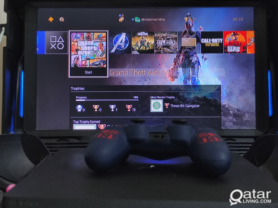 Ps4 Slim 1Tb With Gaems Guardian Gaming Monitor