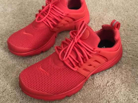 Nike Air Presto Red Shoes