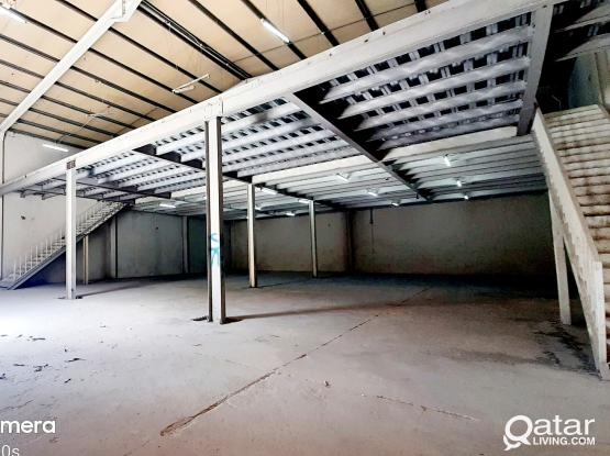 750 SQM STORE FOR RENT IN INDUSTRIAL AREA