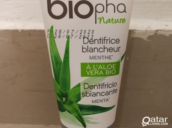 Aloe Vera Toothpaste (Made in France)