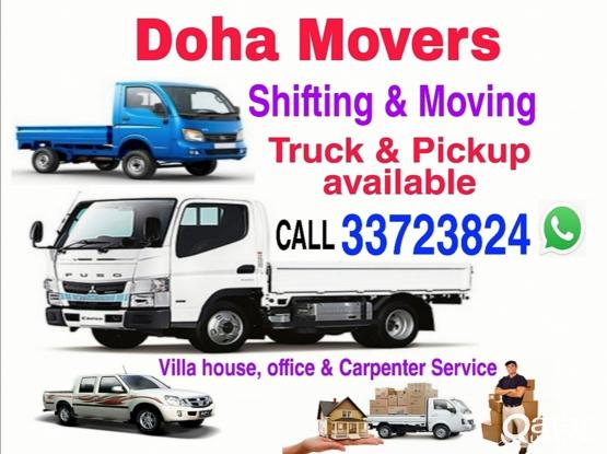 We do Shifting Moving Truck/Pickup available Service,Call 33723824 WhatsApp,I have a tool box Furnit