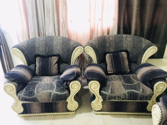 07 Seater Sofa ,2 Side Tables