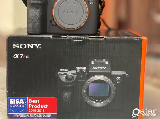 Sony A7r3 Camera Body Only