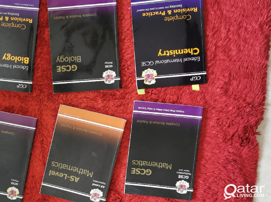 Various Gcse and a/as level books