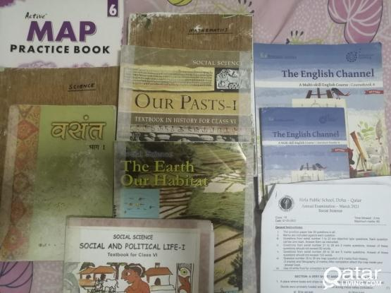 CBSE grade 6 books available