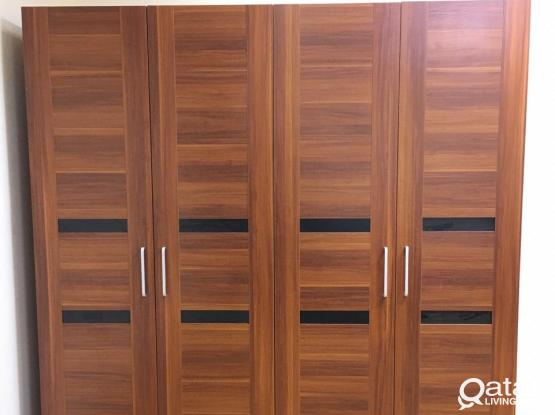 WARDROBE 4 DOOR BRAND NEW DELIVERY INSTALLATION AVAILABLE - CALL OR WHATS APP