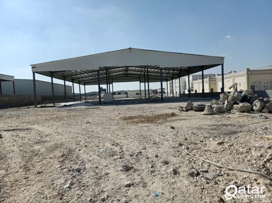 4000Sqm Garage & Workshop Available At Al Wukair ( Berkat Alawameer )