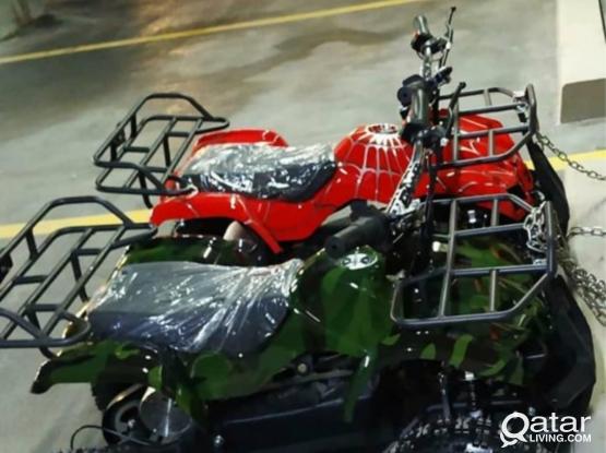 Four wheel motoor byek