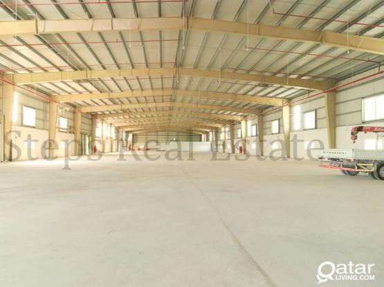 7300Sqm Fabric Plastic Factory Warehouse
