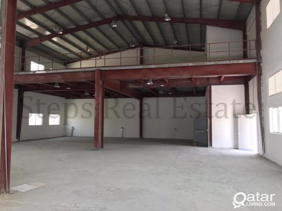 500 SQM Strong Built  Warehouse in Industrial Area