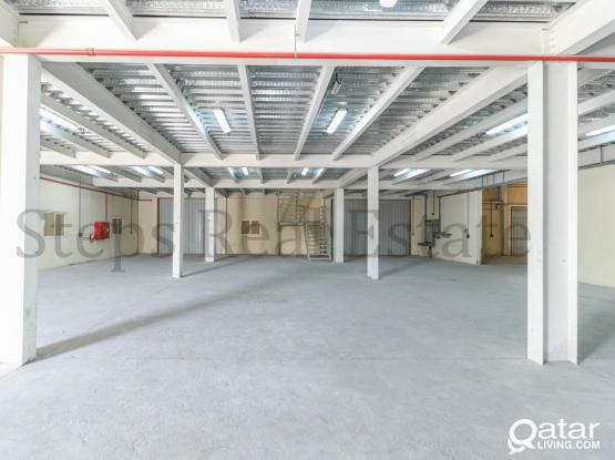 1400 SQM Warehouse With Mezzanine Floor.
